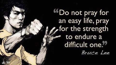 life--endure the hardships in life